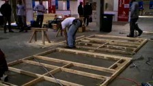 Carpentry Competition Heats Up