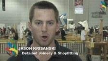 WorldSkills Australia Nationals – Brisbane 2010 – Detailed Joinery & Shopfitting