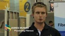 WorldSkills Australia Nationals – Brisbane 2010 – Plastering fibrous