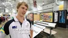 WorldSkills Australia Nationals – Brisbane 2010 –  Signcraft