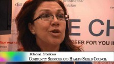 Community Services & Health Industry Skills Council at Skillex NSW, 2011