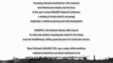 SkillsDMC CEO Steve McDonald discusses the 2011 SkillsDMC National Conference