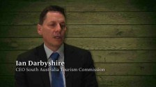 Ian Darbyshire – CEO South Australia Tourism Commission