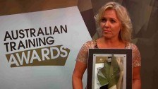 Equalis Pty Ltd win Small Training Provider of the Year Award @ The Australian Training Awards 2011