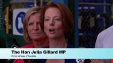 SkillsOne News: Prime Minister Julia Gillard visits Toll for Jobs 1001 announcement