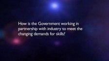 The Hon Senator Chris Evans answers questions on skills Part 4