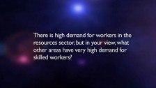 The Hon Senator Chris Evans answers questions on skills Part 2