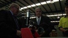 Skills Minister Brendan O'Connor visits Group Training Australia @ Master Plumbers Training Centre