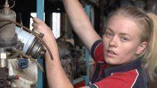 Courtney the Automotive Apprentice