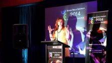 Service Skills Australia Excellence Awards 2014 Guest Speaker – Australian Apprenticeships Ambassador Sara Burke