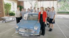 Wenona School restore a Mini