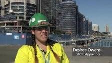 Barangaroo 500 Apprentices