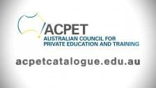 ACPET Catalogue