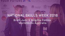 National Skills Week 2016: National Launch Brett Judd & Brigitte Collins