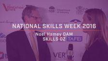 National Skills Week 2016: National Launch Noel Hamey OAM