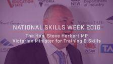 National Skills Week 2016: National Launch The Hon. Steve Herbert MP