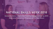 National Skills Week 2016: National Launch Samantha Galea