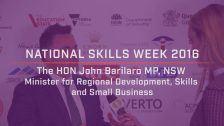 National Skills Week 2016: NSW Launch Minister Barilaro