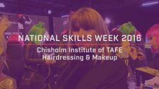 National Skills Week 2016: National Launch Chisholm Institute Beauty, Health & Wellness