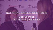 National Skills Week 2016: QLD Launch Jodi Schmidt