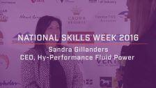 National Skills Week 2016: QLD Launch Sandra Gillanders