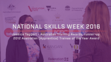 National Skills Week 2016: NSW Launch Jessica Taggart