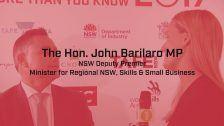 National Skills Week 2017: NSW Launch, NSW DP John Barilaro
