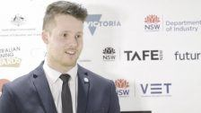 National Skills Week 2018 Victorian Launch: Alex Slinger, WorldSkills Silver Medallist for Retail Baking Bread