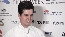 National Skills Week 2018 NSW Launch: Christopher Matkowski, 2018 WorldSkills Gold Medalist in Cookery, National Championship
