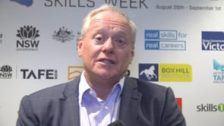 Brett Schimming, CEO Construction Skills Queensland NSWK 2019 Queensland Launch at PWC Brisbane
