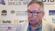 Robert Adams NSWK 2019 VIC Launch at Box Hill Institute