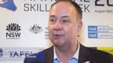 Trever Schwanke NSWK 2019 VIC Launch at Box Hill Institute