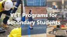 VET programs for Secondary Students